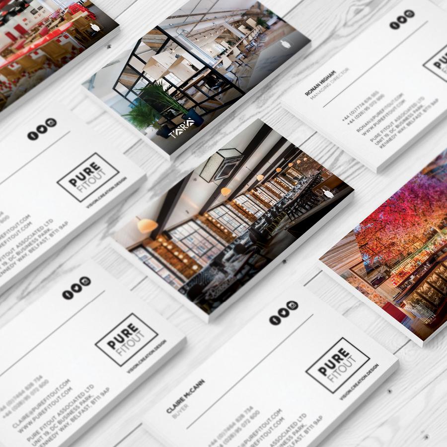 igniteddesigns - Premium Business Cards Print Design Belfast