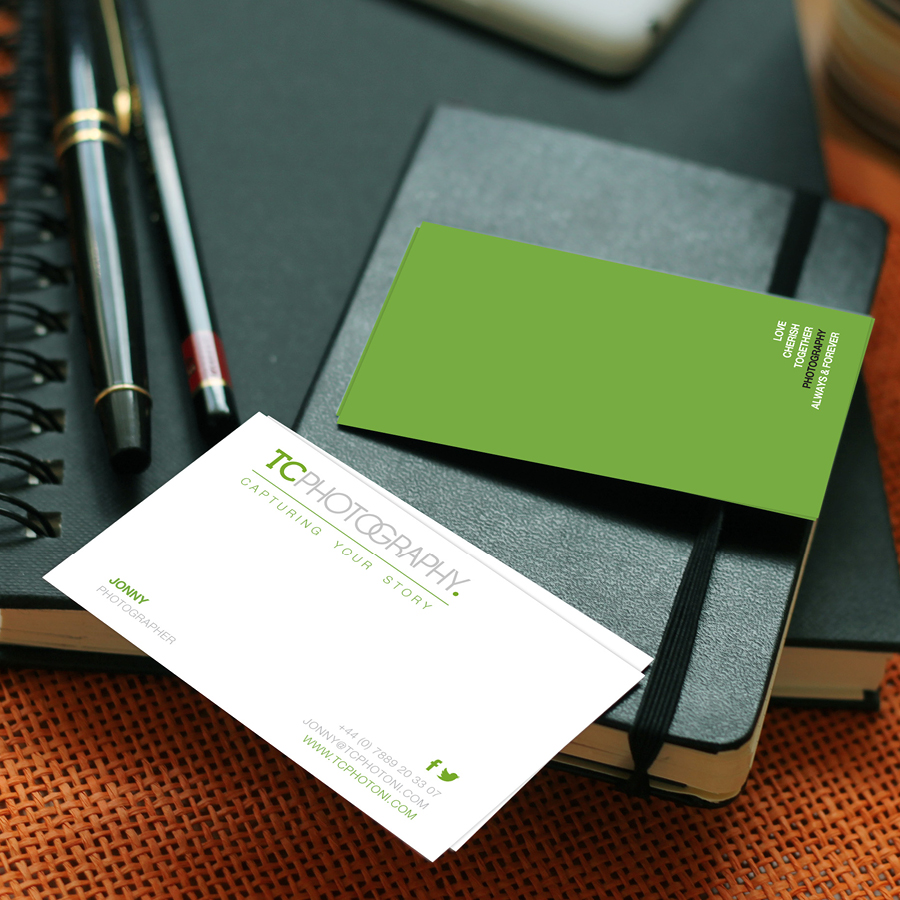 igniteddesigns - business card design print belfast