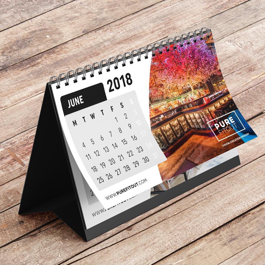 igniteddesigns - calendar stationary printing design belfast