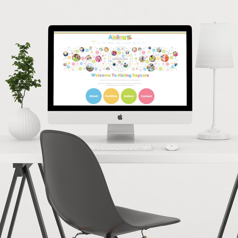 igniteddesigns - daycare website design belfast