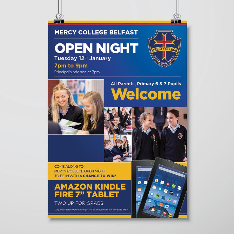 igniteddesigns - poster design print school belfast northern ireland
