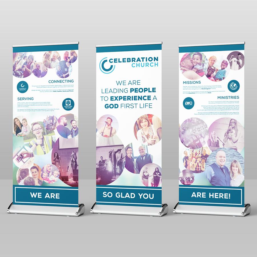 igniteddesigns - premium pop up banners Print Design northern ireland