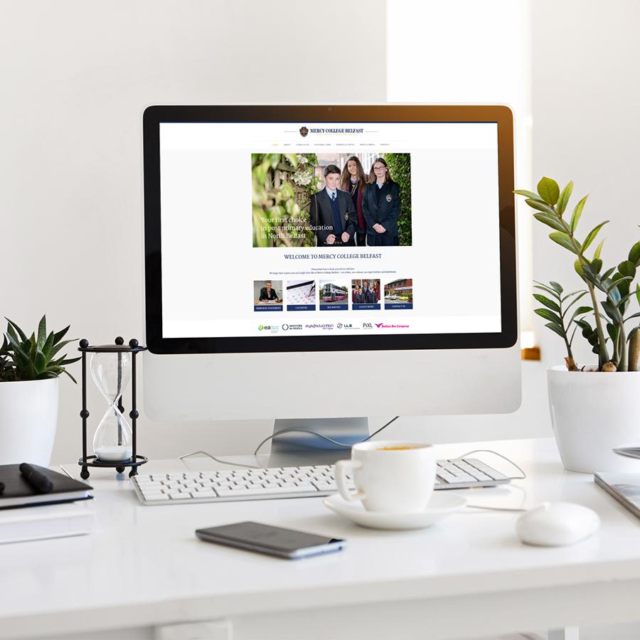 igniteddesigns - school website design belfast