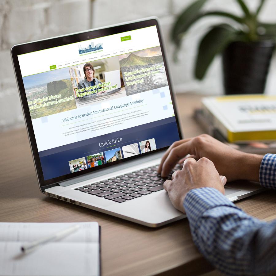 igniteddesigns - website design school belfast